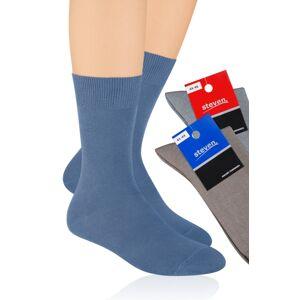 Pánské bavlněné ponožky 048 černá 44-46