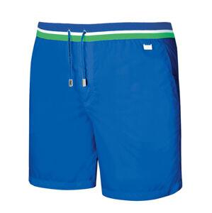 Pánské plavky - kraťasy SM7 modrá 2XL