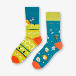 Dámské asymetrické ponožky 078 béžový 35-38
