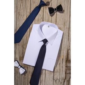 Klasická bílá košile s dlouhými rukávy 74-92 ..... (6) ..... (6)