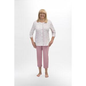 Dámské pyžamo 201 MARIA světle růžová XL