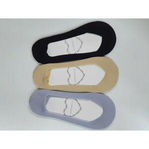 Vzorované ponožky 46 šedá Univerzální