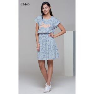 Dámské šaty/košile 21446 šedá 40