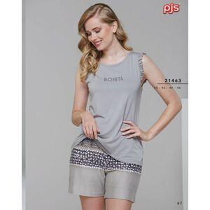 Dámské pyžamo (ramínka/šortky) 21463 MINK 40
