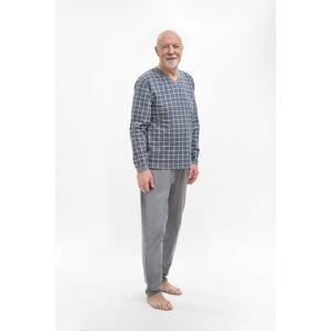 Pánské pyžamo 402 ROMAN GREYRED XL