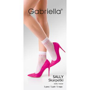 Tenké ponožky se vzorem SALLY NOCCIOLA / BARVA Univerzální