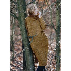 Dámské šaty LHD 202 B20 hořčicová L