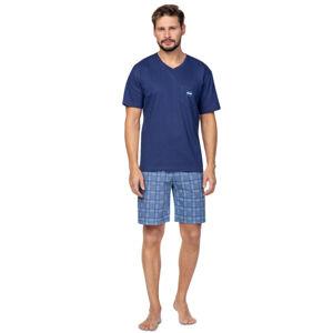 Pánské pyžamo 581 námořnická modrá M