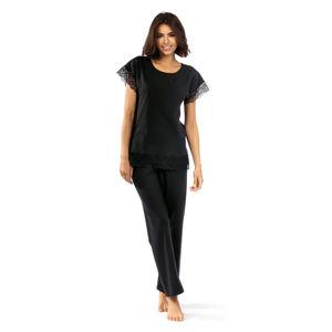 Dámské pyžamo P-1502 černá 44