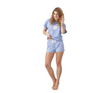 Dámské pyžamo DARETTA 1017 Modrá L