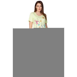 Dámské pyžamo 936  zelená S