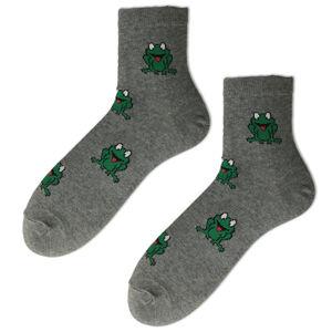 Pánské vzorované ponožky tmavě modrá 41-43