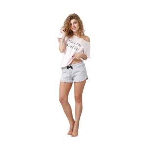 Dámské pyžamo NEVA 1015 růžový S