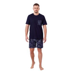 Pánské pyžamo TOMI 1064 GRANATOWY M