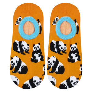Ponožky SOXO - Panda oranžová 35–40