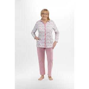Dámské pyžamo 206 ELŻBIETA II růžový XL
