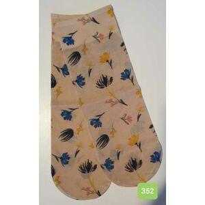 Dámské ponožky WZ.352 Béžový uni
