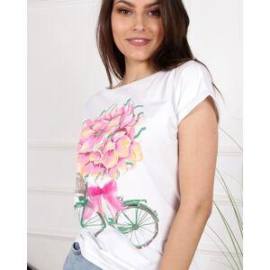 Dámské tričko ROWER špinavě růžová 36