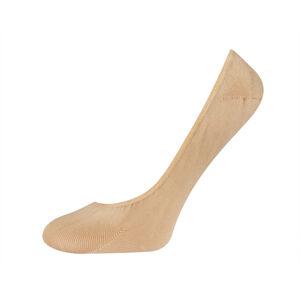 Ponožky SOXO se silikonem do balerín - béžové BEŻOWY 35–40