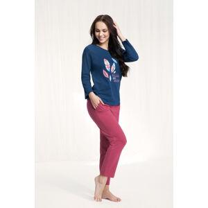 Dámské pyžamo 576 3XL námořnická modrá 3XL
