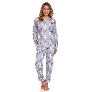 Dámské pyžamo PM.4168 Grey M