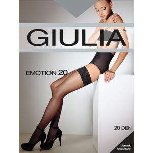 Samodržící punčochy EMOTION 20 - GIULIA černá 1/2
