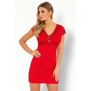 Sexy košilka Sive red - LivCo Corsetti červená L/XL