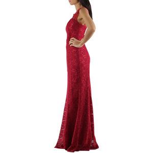 Společenské a plesové šaty krajkové dlouhé luxusní CHARM'S Paris červené - Červená - CHARM'S Paris XS