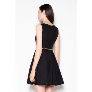 Společenské šaty VT078 - Venaton černá 36