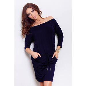 Tmavě modré sportovní šaty model 4975085 L