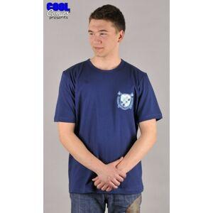 Tričko pánské Zbyšek tmavě modrá M