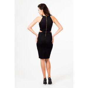 Večerní šaty model 580711 36403 Depare  černá L