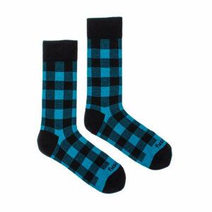 Veselé ponožky Fusakle karo blu (--0938) L