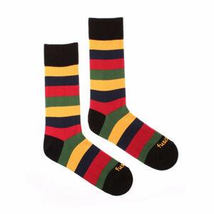 Veselé ponožky Fusakle multikulturalista druhý (--0810) M