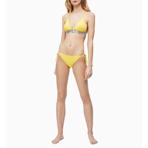 Vrchní díl plavek KW0KW00812-ZP0 žlutá - Calvin Klein žlutá M
