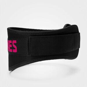 Vzpěračský Opasek - Black/Pink - Better Bodies černá s růžovou S